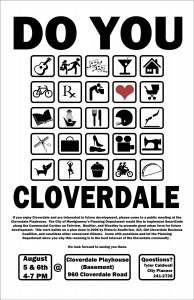 SmartCode for Cloverdale? Community Meetings Invite Input