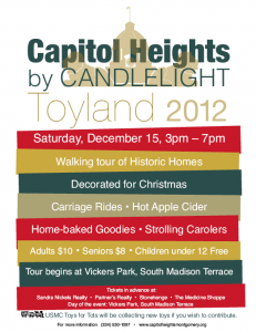 Capitol Heights by Candlelight: Toyland!
