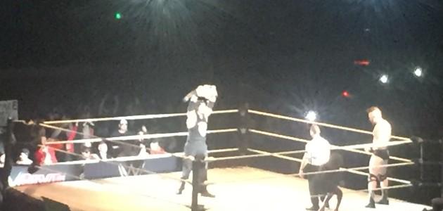 WWE at Garrett Coliseum